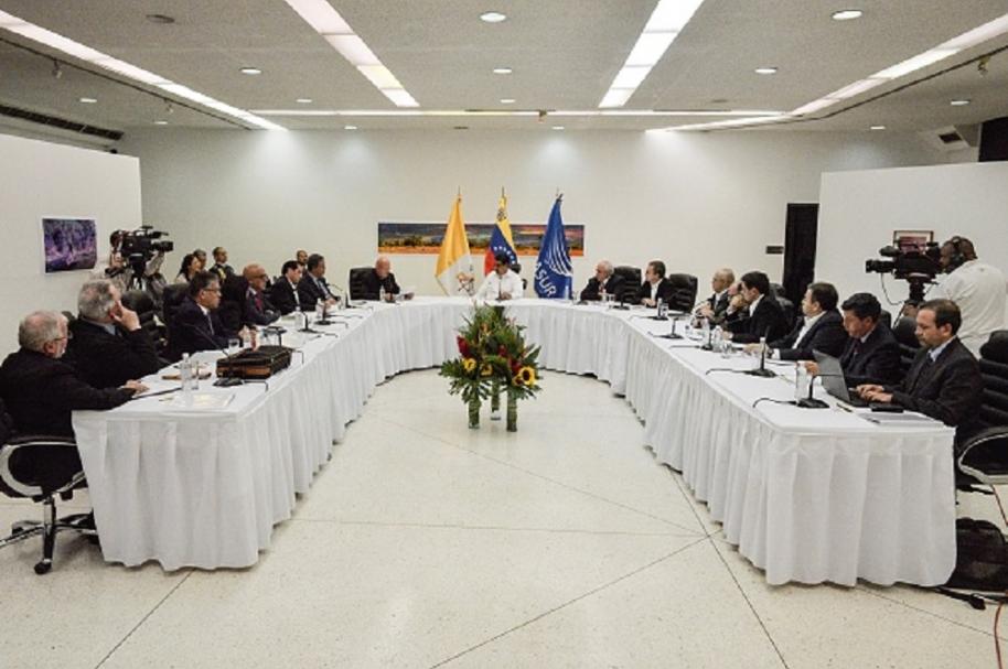 En peligro diálogos en Venezuela