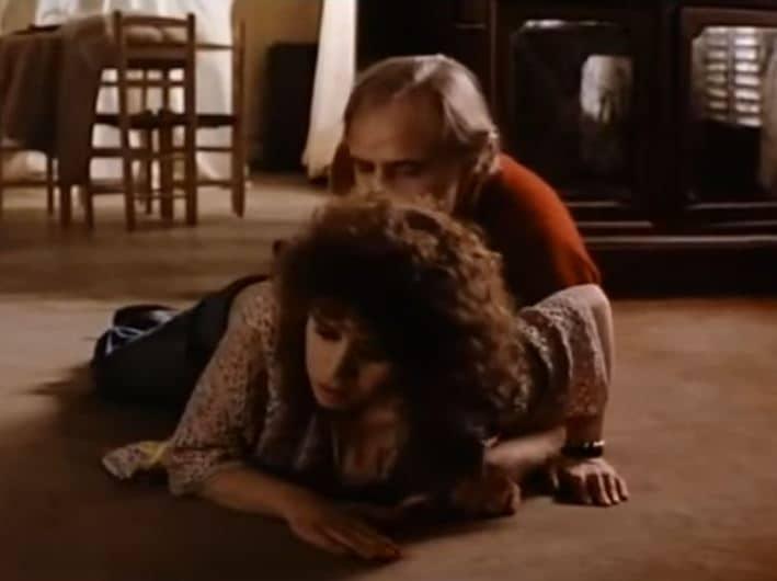 Escena de la película 'El último tango en París'