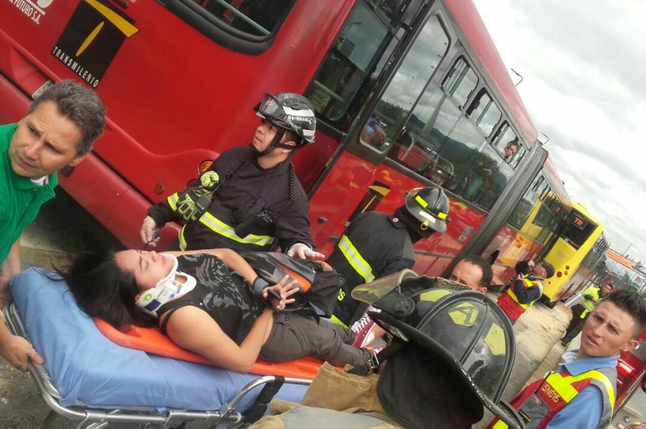 Accidente de Transmilenio