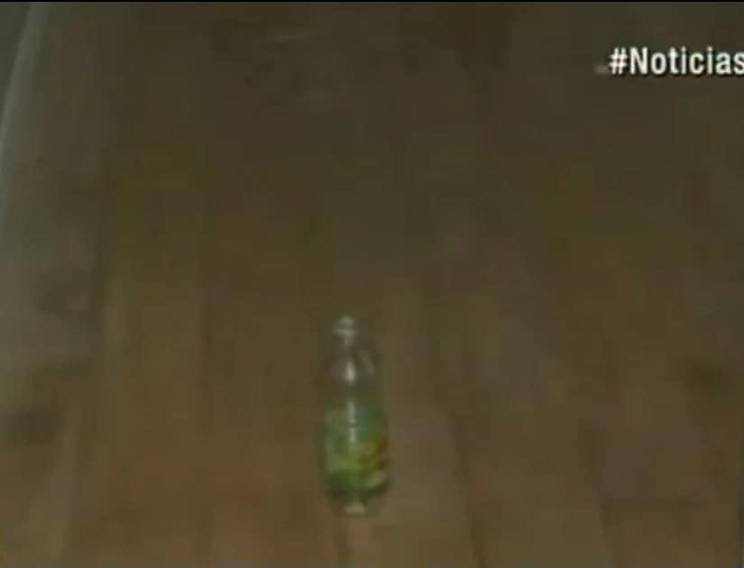 El aceite encontrado en el apartamento