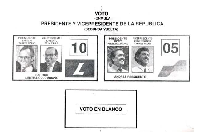1994 Segunda vuelta