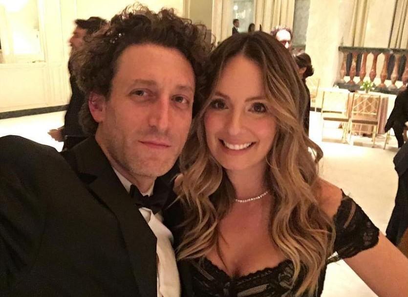 Simón Brand, director de cine, y su esposa Claudia Bahamón, presentadora.
