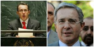 Álvaro Uribe fue presidente de Colombia del 2002 al 2010