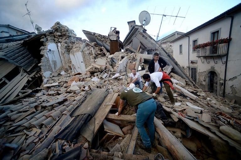 Terremoto en Italia. Pulzo.com