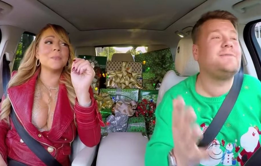 Mariah Carey y James Corden