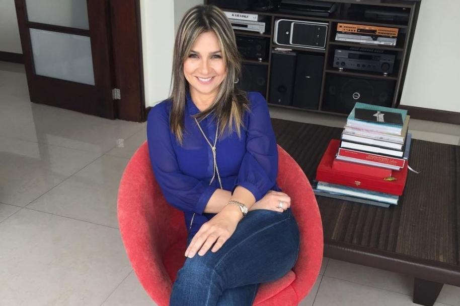 La periodista Vicky Dávila.