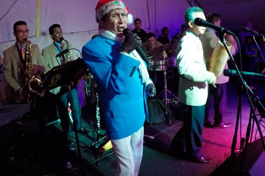 Gustavo el 'Loko' Quintero, fallecido cantante colombiano.