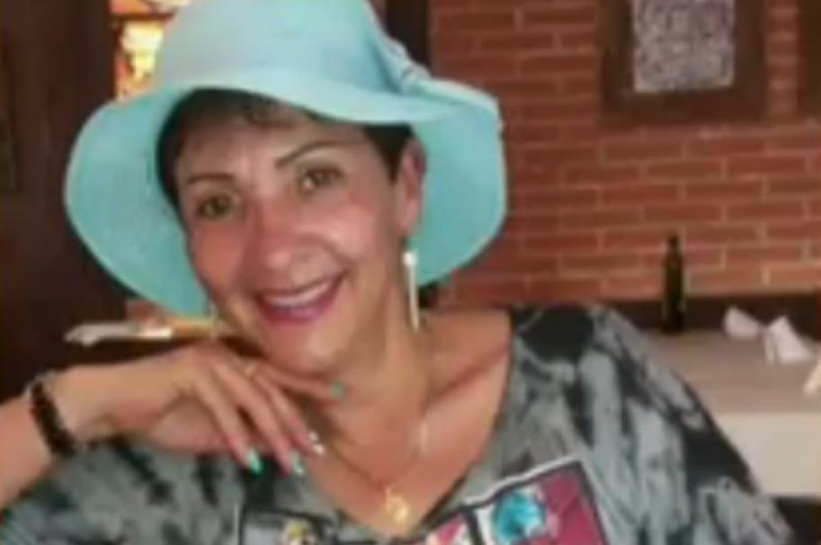 Gloria Montañez, víctima