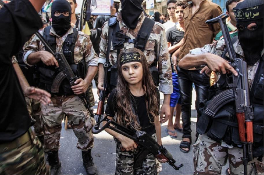Niña yihadista