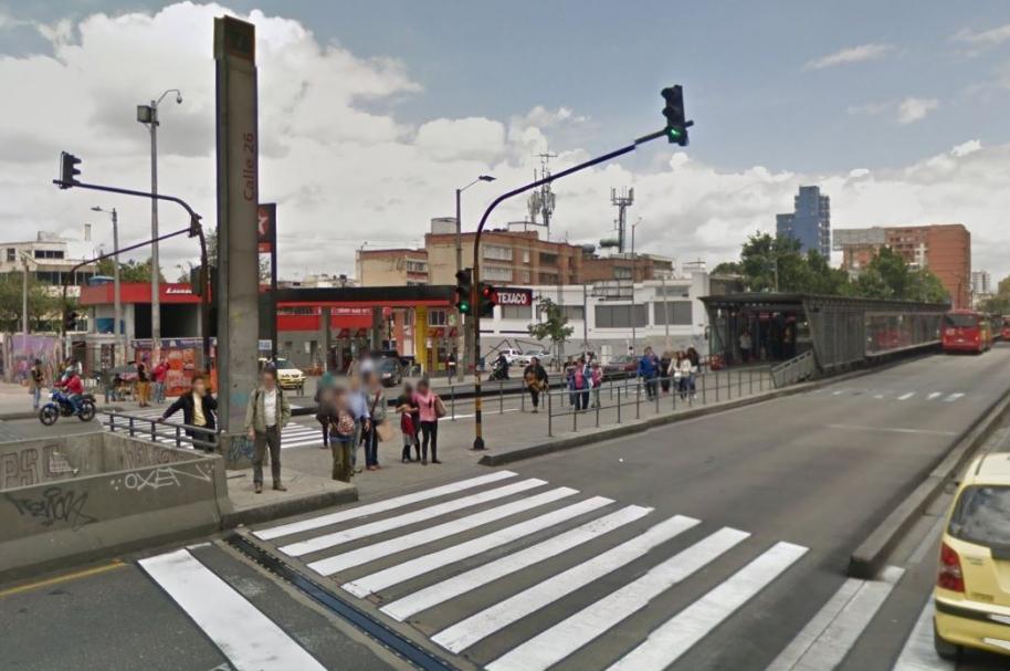 Estación de Transmilenio de la Calle 26