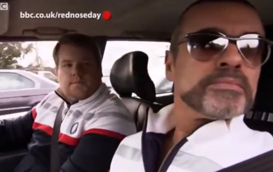 James Corden y George Michael