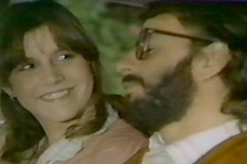 El desconocido video musical de Carrie Fisher con Ringo Star.