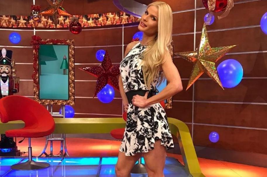 Mary Méndez, presentadora de La Red