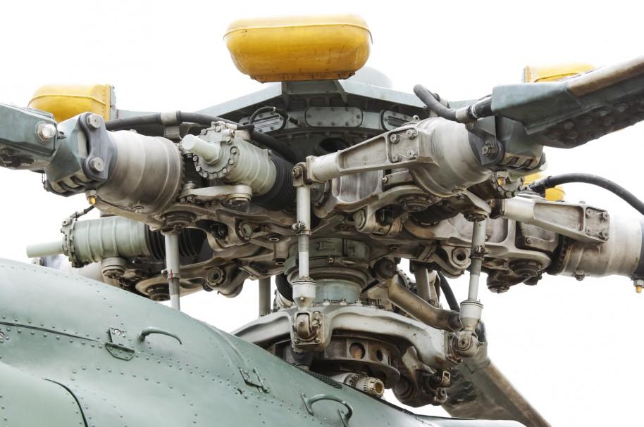 main rotor principal de un MI-17
