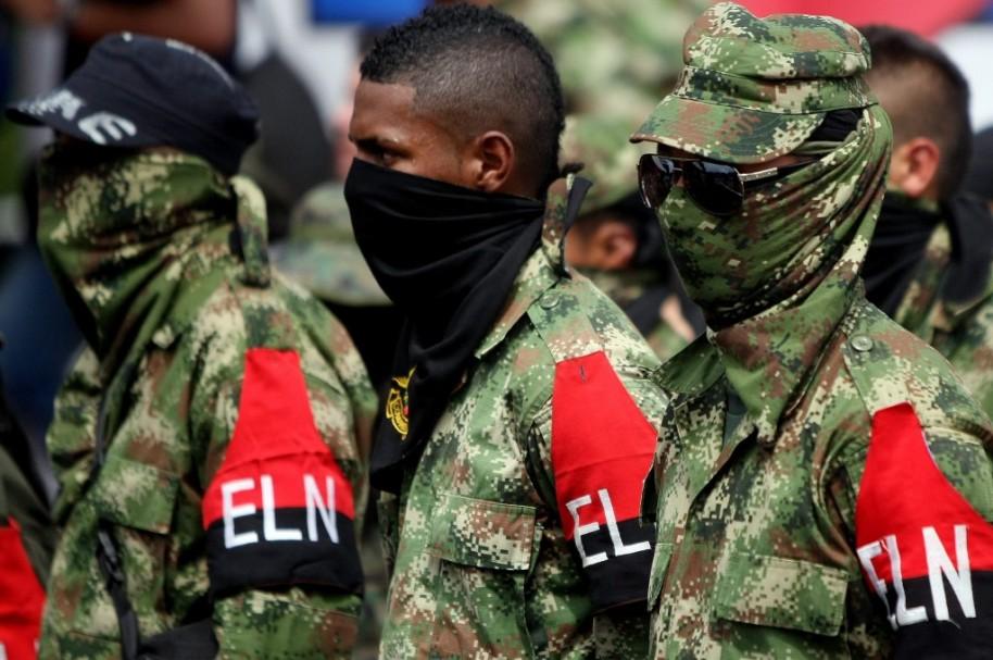 Guerrilleros del Eln.