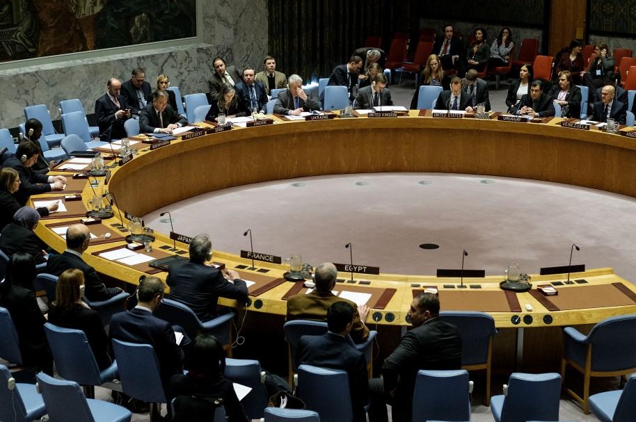 Reunión del Consejo de Seguridad de la ONU, en Nueva York