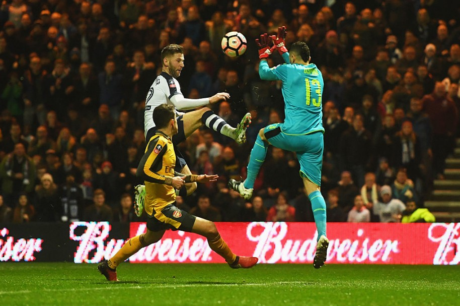 Partido Preston vs. Arsenal