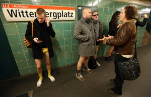 Pantless Sunday Call Draws Participants In Berlin