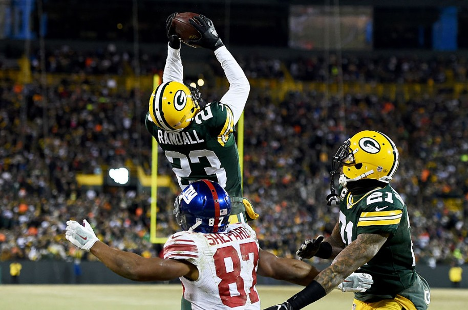 New York Giants vs. Green Bay Packers