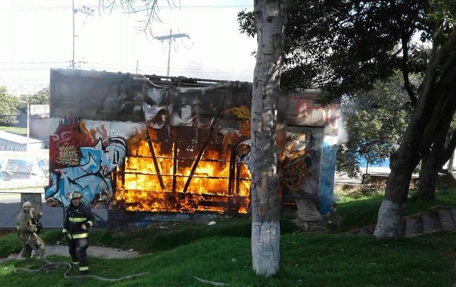 Incendio en Casa del Viento