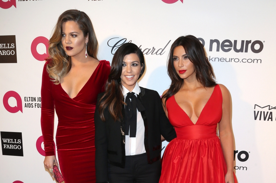Khloé Kardashian, Kourtney Kardashian y Kim Kardashian