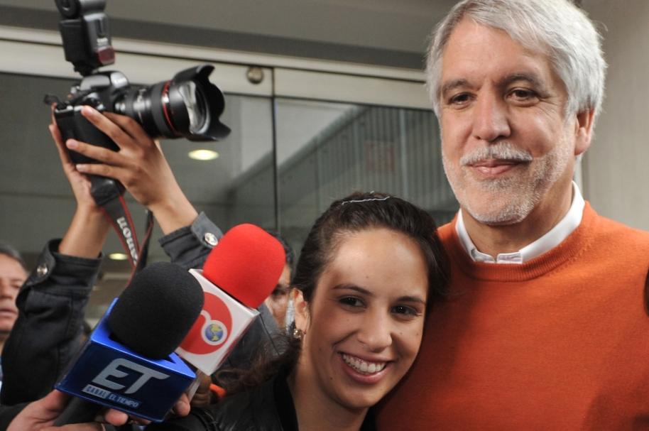 Renata y Enrique Peñalosa