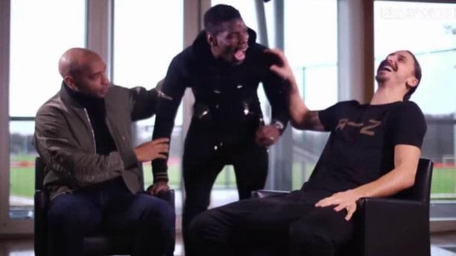 Entrevista Zlatan, Pogba y Henry