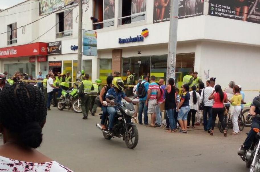 Atraco en banco de Jamundí (Valle del Cauca)