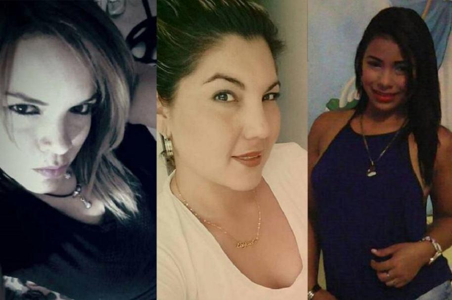Karen Noriega, Andrea Torrado e Idanis González