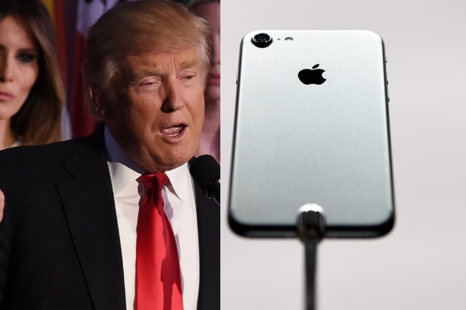 Trump y el iPhone