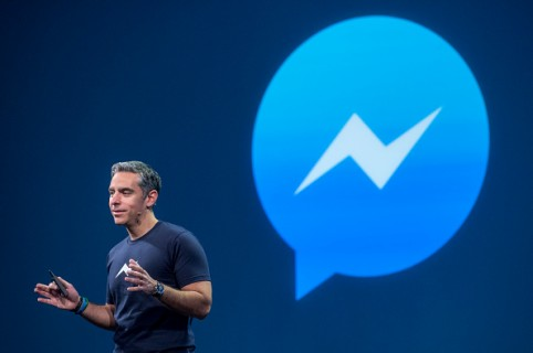 David Marcus da conferencia sobre Facebook Messenger