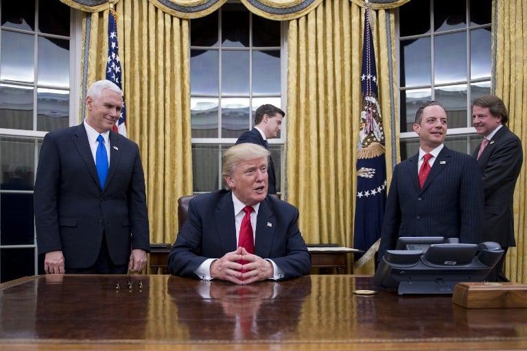 Primer decreto de Trump