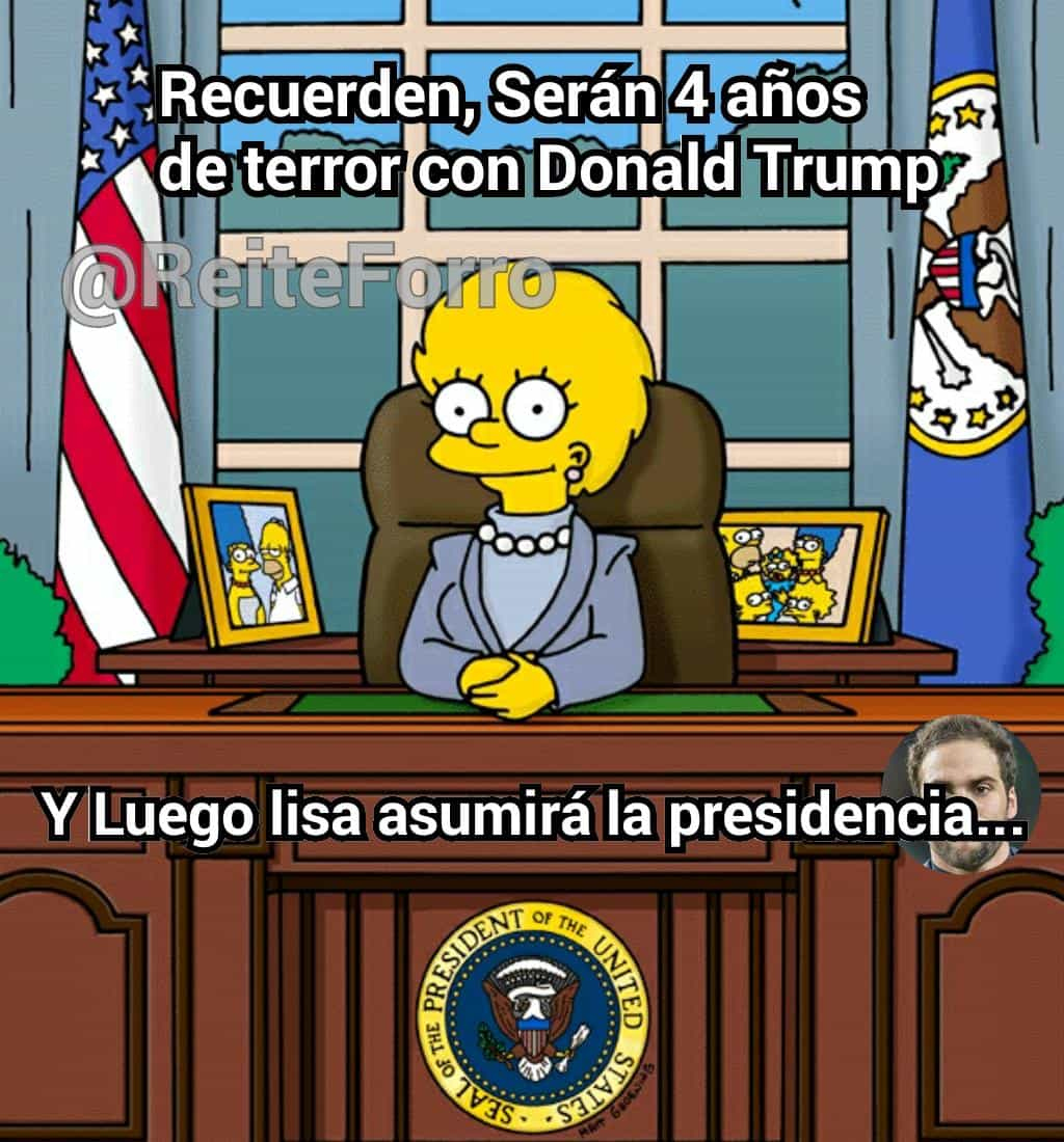 No todo es tan malo, Donald Trump
