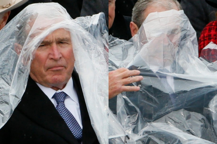 Impermeable de George Bush