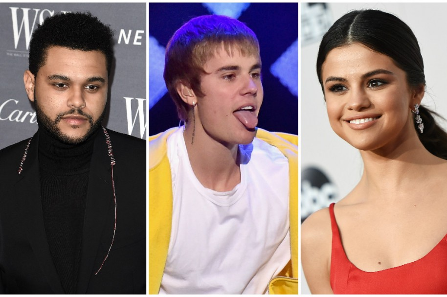 The Weeknd / Justin Bieber / Selena Gomez