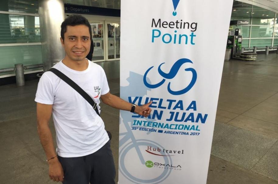 Darwin Atapuna en la Vuelta a San Juan