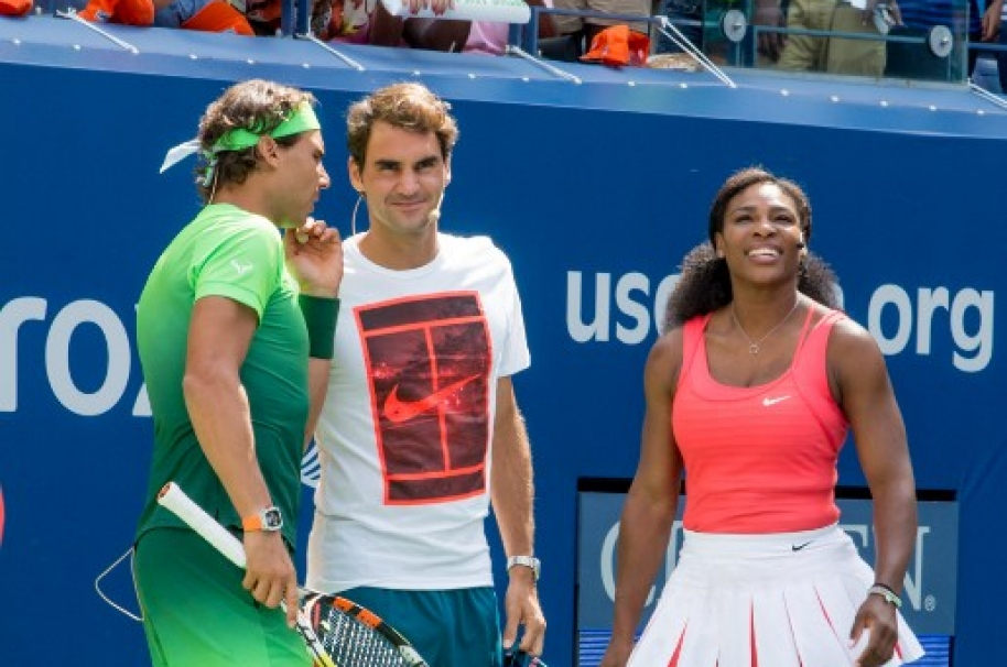 Nadal, Federer y Williams