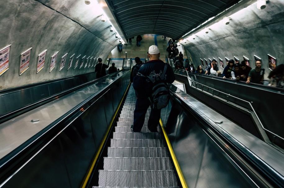 Escaleras eléctricas. Pulzo.com