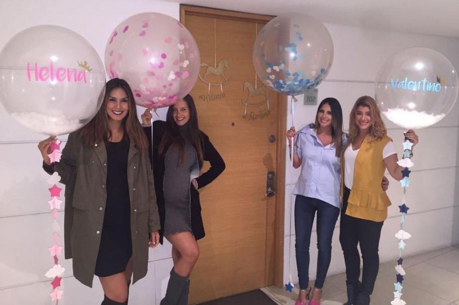 Catalina Robayo, Laura Acuña, Carolina Soto y Andrea Jaramillo, presentadoras de Noticias RCN.