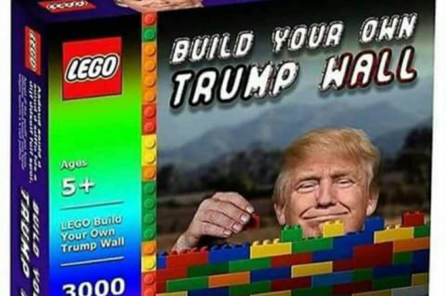 Meme de muro de Trump. Pulzo.com