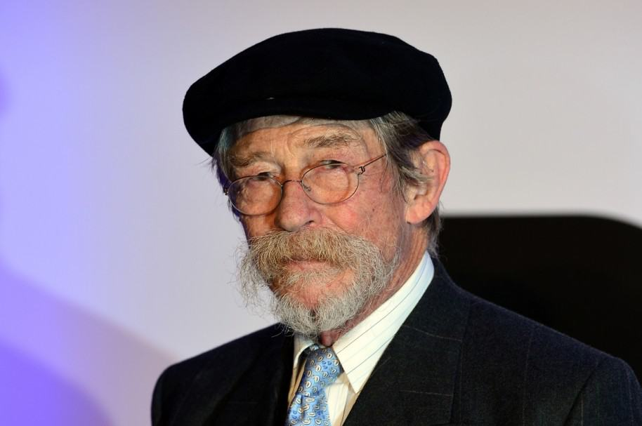 John Hurt, actor de 'Harry Potter'.