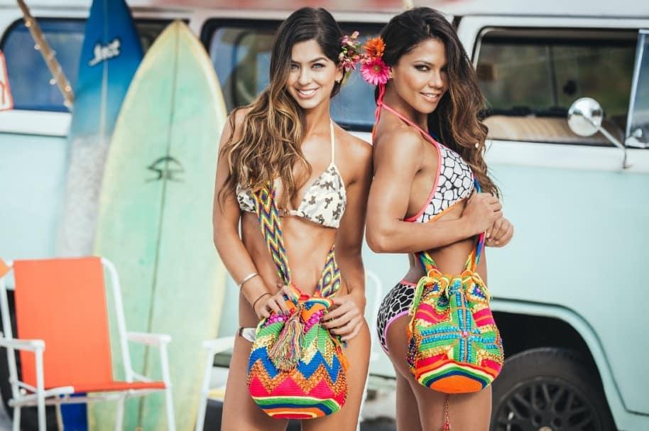 Camila Dávalos y Shirly Gómez