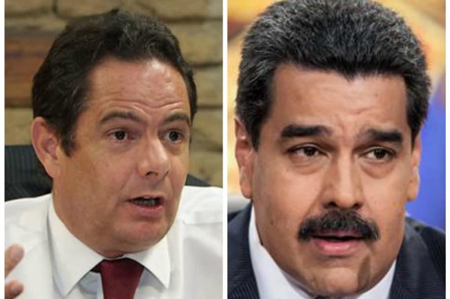 Nicolás Maduro y Germán Vargas Lleras