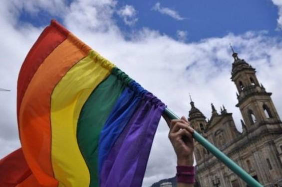 Bandera LGBTI, foto de referencia