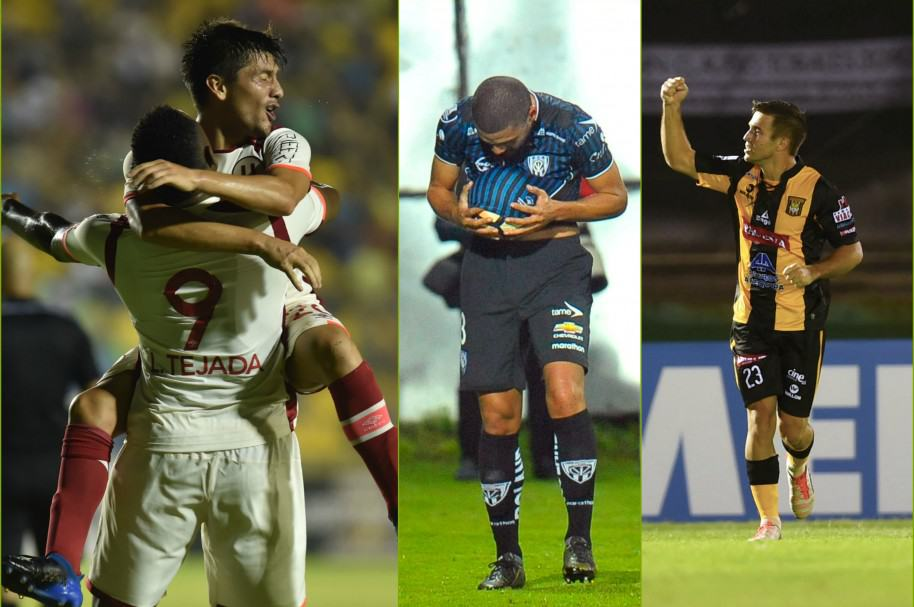 Universitario, Independiente del Valle y The Strongest consiguieron triunfos en Copa Libertadores