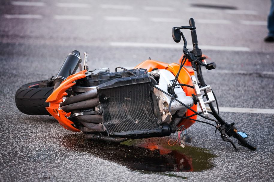 Accidente de motocicleta. Pulzo.com