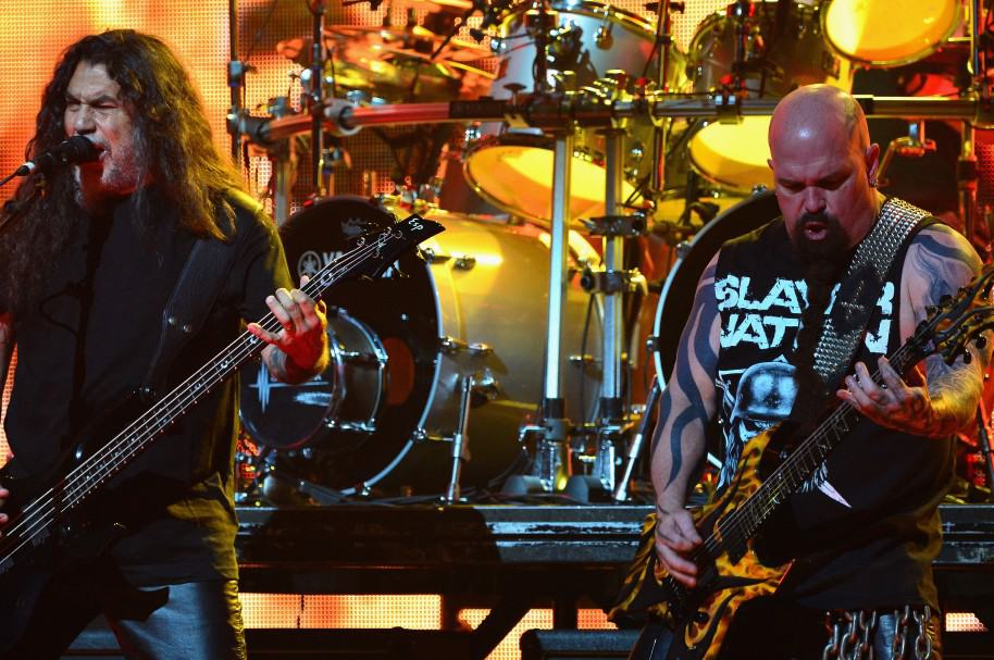 Tom Araya y Kerry King de la banda Slayer