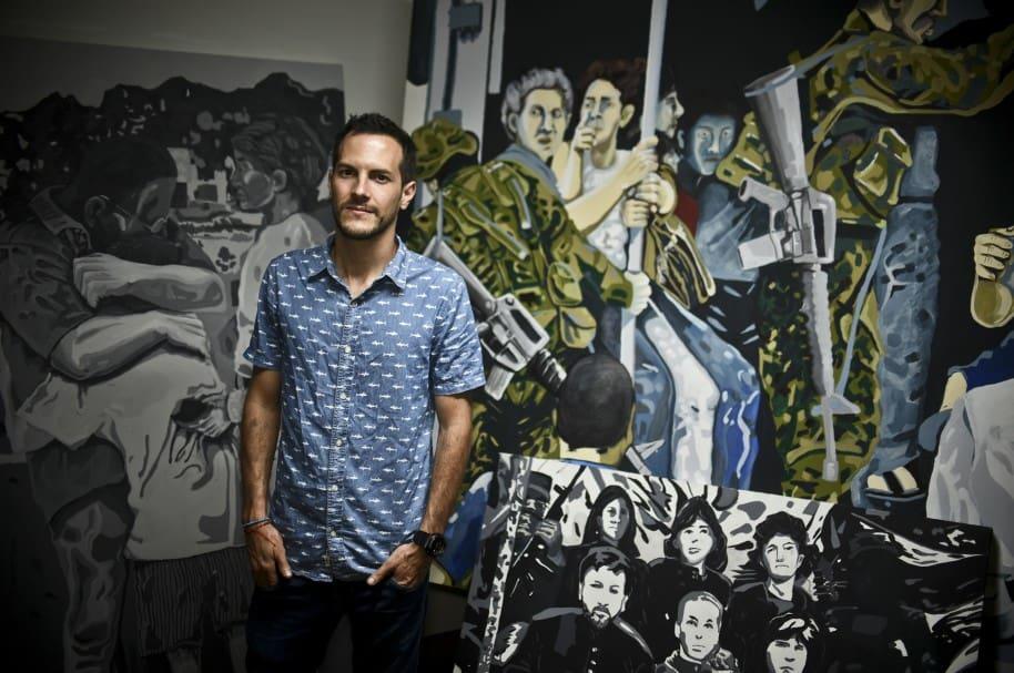 Juan Daniel Otoya, artista