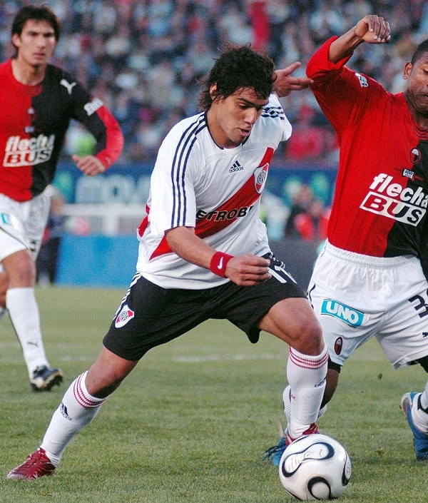 Falcao García en River Plate (2006).