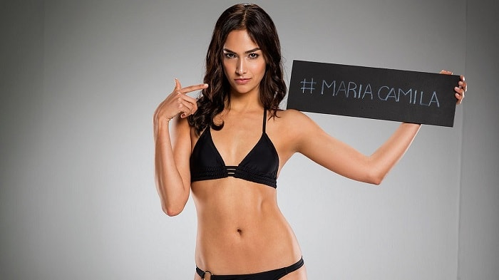 María Camila Giraldo, finalista de 'Colombia's next top model'.